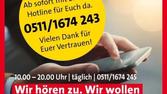 Corona Sorgen-Telefon SPD