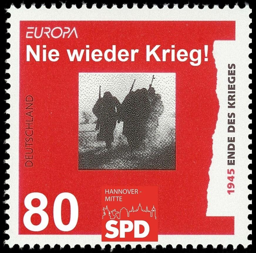 SPD Mitte 75 Jahre Kriegsende